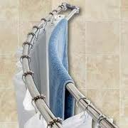 Clawfoot Tub Shower Curtain Solutions Oval Shower Curtain Rods